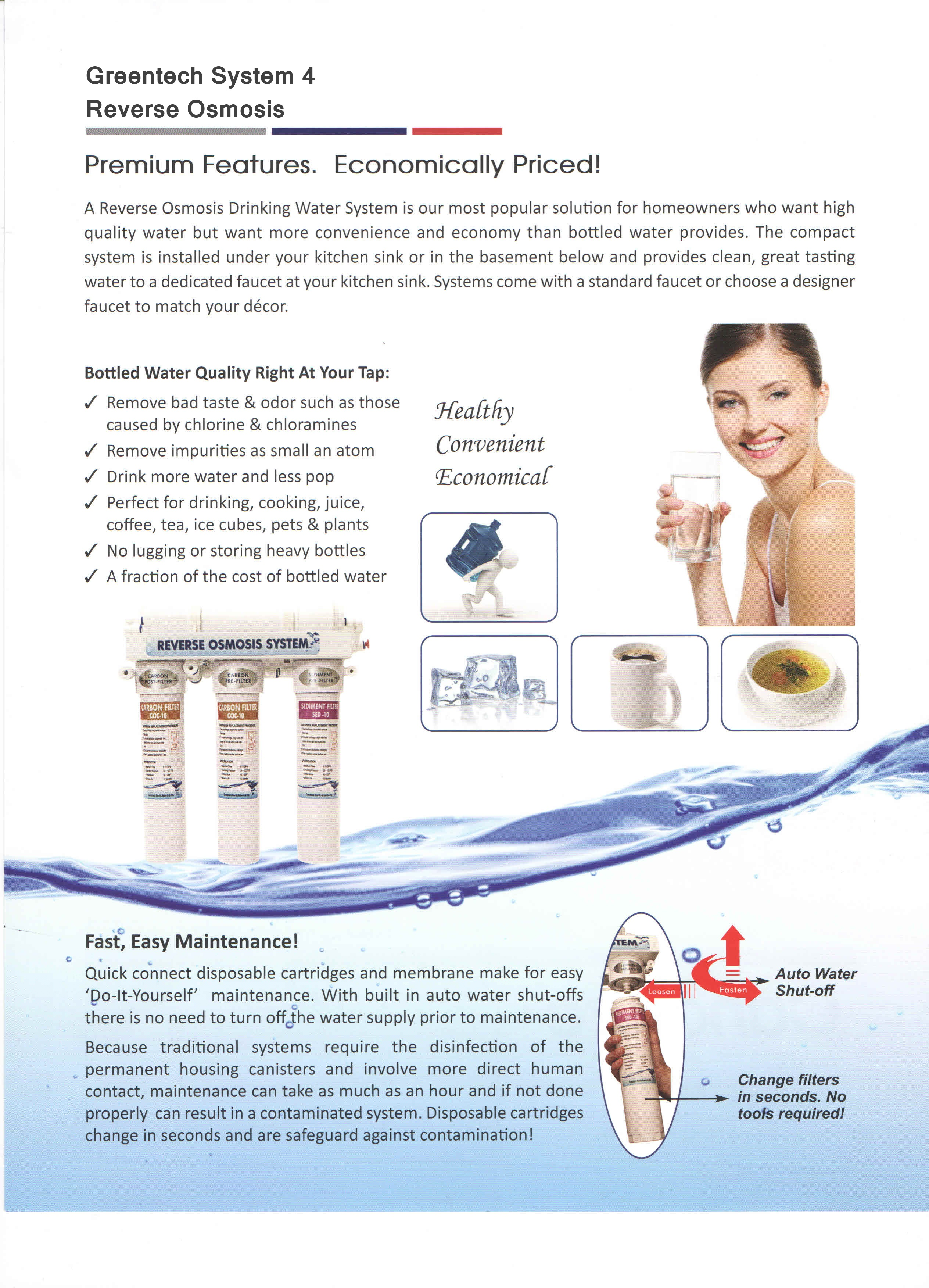 Where To Get Reverse Osmosis Water Water Purification Systems Softsprings Water Conditioning