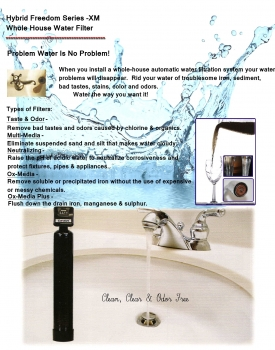 Hybrid Freedom Series XM Whole House Water Filter