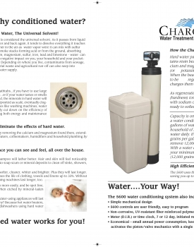 Pro H2O 5600 Water Softener